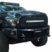 For Ram 3500 13-18 1-pc Red Mesh Main Grille W 1 X 30 Led Light Bar