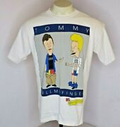 Vtg 90s Beavis And Butthead L Tommy Pull My Finger Mtv Single Stitch T-shirt