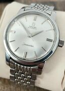 Omega Seamaster Automatic Vintage Menand039s Watch 1961 Serviced + Warranty