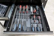 Screwdriver Tray Storage Sort Organize Tool Chest Draw Compartment Holder Bits