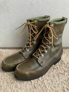 60s Red Wing 2170 Hunting Boots 11.5c Irish Setter Square Dog Tag Green No.8981