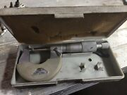Nsk Outside Micrometers 0-1 And 1andrdquo-2andrdquo Made In Japan - Machinist Tool Caliper