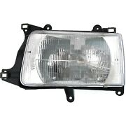 Headlight For 93 94 95 96 97 98 Toyota T100 93 T100 One-ton Left With Bulb