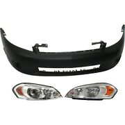 Bumper Cover Kit For 2006-2007 Chevrolet Monte Carlo Front