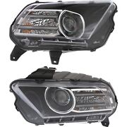 Dr3z13008c, Dr3z13008d Capa Driver And Passenger Side Hid/xenon Lh Rh For Mustang