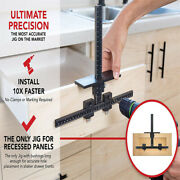 Cabinet Hardware Jig Punch Locator Drill Guide Template Wood Drilling Dowelling