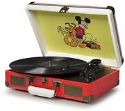 Crosley Cr8005a-ds Cruiser Vintage 3-speed Suitcase Turntable Disney