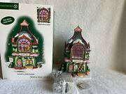 Dept 56 - North Pole - Twinkle Toes Ballet Academy - New - Animated - Rare