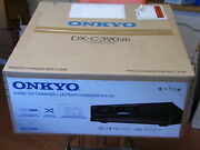 New Onkyo Dxc390b 6 Disc Cd Changer Player Black With Mp3 Cd Playback Dx-c390