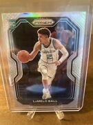 Lamelo Ball 2020-21 Panini Prizm Silver Rc Rookie Charlotte Hornets Read