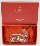 Waterford Crystal Nativity Collection Donkey Mib