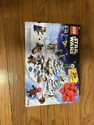 Lego 75213 Star Wars Advent Calendar 2018 Retired - Open Partially Put Together