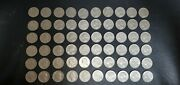 Lot Of 63 Coins 1975 - 1998 Quaters