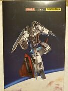 Igear Pp03j Jet Fighter Team Transformers 3rd Party G1 Ramjet