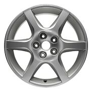 Wheel For 2002-2004 Nissan Altima 17x7 Silver Refinished 17 Inch Rim