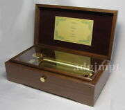 New 72 Note The Umbrellas Of Cherbourg 3 Parts Music Box Wal Orpheus Sankyo
