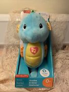 Fisher Price - Soothe N Glow - Seahorse, Blue [new Toy] Blue, Plush, T