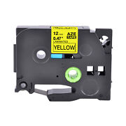 80pk Tz631 Tze631 Black On Yellow Label Tape For Brother P-touch Pt-p700 1/2
