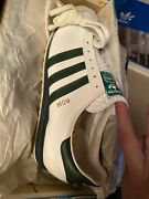 Adidas Vintage Rom Green And White Shoes Sz 8 Us 415 Eur New In Box Rare