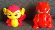 Neopets Voice Activated Red Grarrl And Mynci Thinkway Toys Electronic Pet Used