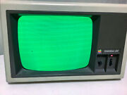 Vintage Apple Monitor Iii Green Monochrome Computer Monitor A3m0039 Powers On