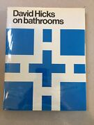 David Hicks On Bathrooms 1970 First Us Edition Britwell Books Hardcover Rare