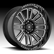 American Force Ac003 Weapon Gloss Black Milled 20x10 6x5.5 -18mm