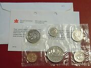 1983 Canada Canadian Proof Like Pl Nickel Coin Mint Set Great Birthday Gift