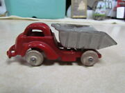 Vintage 1930and039s Cast Iron Hubley Dump Truck Wheels Are Nice