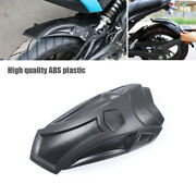 Motorcycle Scooter Rear Wheel Cover Extended Fender Splash Guard Mudguard Baffle
