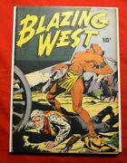 Blazing West 3 Feb 1949 American Comics Group None In Census