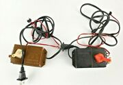 Bachmann Hobby Transformer Lot Of 2 Model Train Parts 6607 Untested As Is
