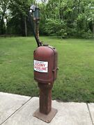 All Original Nice Gb T-8 Previsible 1900andrsquos Socony Gas Pump Oil Porcelain Sign
