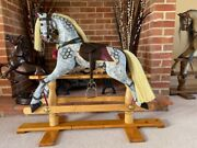 And039bluebelland039 Nursery Sized Rocking Horse - Free Delivery