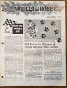 Rare-monogram Models And Hobbies Newsletter April-may 1965 2nd Mouse Appearance