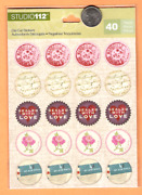 Studio 112 Stickers Sealed With Love And By Air Mail Rounds - Free Ship