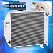 For 32 Lo-boy Low Boy Street/rat Rod Chopped Grill-shell Cooling Racing Radiator