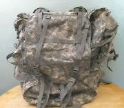 Usgi Molle Ii Modular Lightweight Load-carrying Rucksack Large W/ Frame And Pouch
