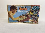 Vintage Emenee Batman Trace-a-graph In Box With Tracing Paper And Functioning Lamp