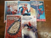 Amazing Spiderman Comic Lot Of 170 500-700 Many Variants Vf/vf+ Bagged