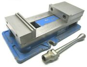 Kurt Anglock 6 Milling Machine Vise W/ Jaws And Handle - D675