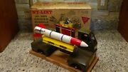 Rare In The Box 1960 Vintage Nylint No 2800 Guided Missile Carrier Traveloader