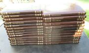Time Life Books The Old West Series 25 Leatherette Gold Embossed Lot