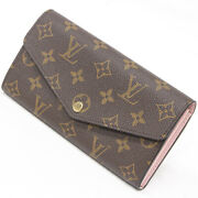 Previously Owned Louis Vuitton Monogram Wallet Sarah Womenand039s Wallets No.1063