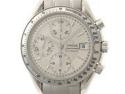Omega Speedmaster Date 3513.30 Silver Dial Menand039s Automatic Watches No.4304