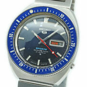 Seiko Sports Diver 6119-8120 Vintage Sport 70 Meters 1968 May Automatic No.3568
