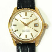 Seiko Ks44 King Second Model Stainless 1965 Make Hand-wound Used No.5047
