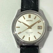 Seiko Ks44 King Second Model Stainless 1966 Make Hand-wound Used No.5048