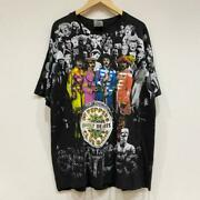 Beatles Sgt.pepper's Lonely Hearts Club Band T-shirt Size Xl Black