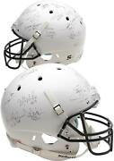 College Footballand039s Best Signed White Matte Authentic Helmet With 23 Signatures